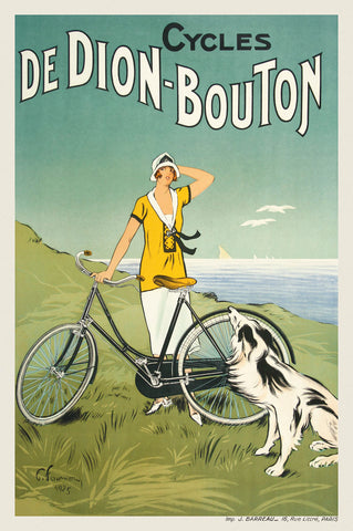 Cycles de Dion-Bouton -  Vintage Posters - McGaw Graphics