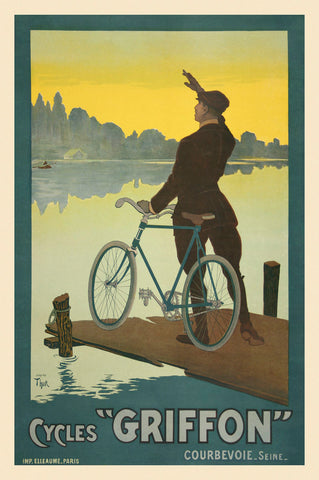 Vintage Posters - Cycles Griffon