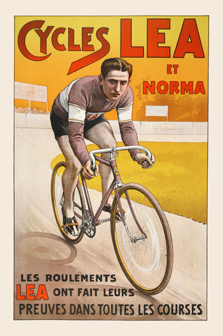 Vintage Posters - Cycles Lea et Norma
