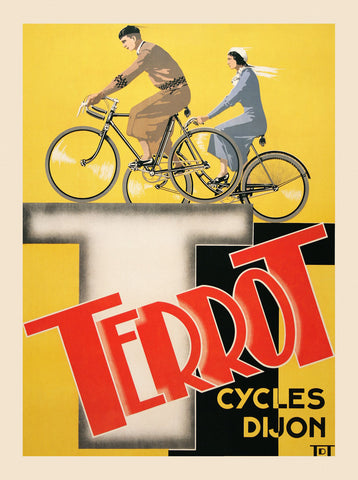 Vintage Posters - Terrot Cycles Dijon