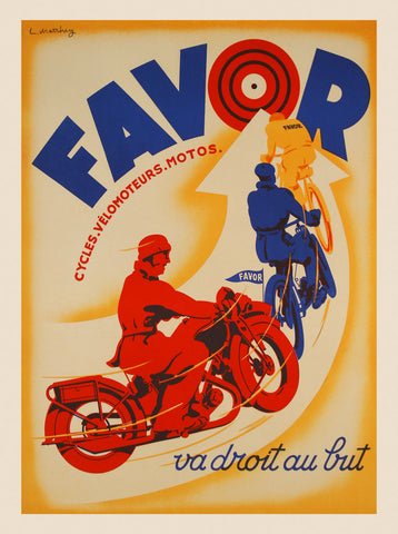 Favor -  Vintage Posters - McGaw Graphics