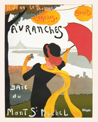 Avranches Baie du Mont St. Michel -  Vintage Posters - McGaw Graphics