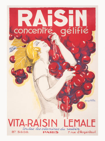 Raisin Concentre gelifie -  Vintage Posters - McGaw Graphics