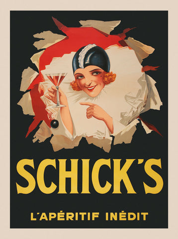 Schicks -  Vintage Posters - McGaw Graphics