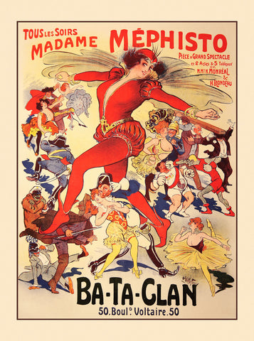 Madame Mephisto -  Vintage Posters - McGaw Graphics
