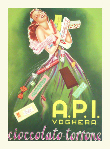 A.P.I. Voghera -  Vintage Posters - McGaw Graphics