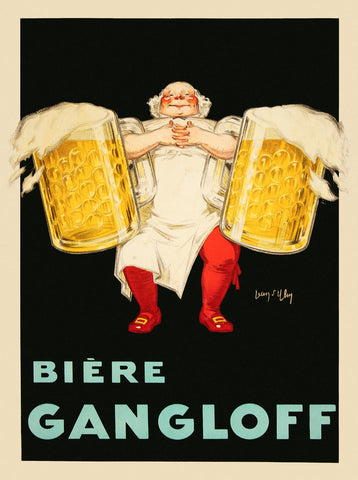 Biere Gangloff -  Vintage Posters - McGaw Graphics