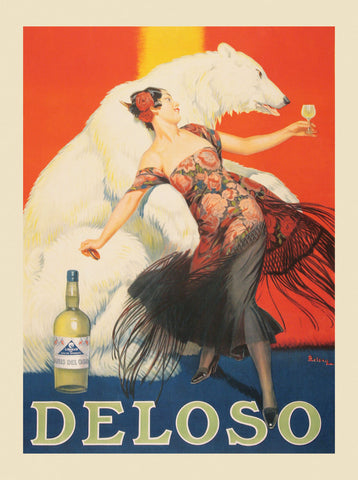 Deloso -  Vintage Posters - McGaw Graphics