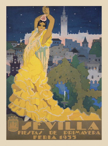 Sevilla -  Vintage Posters - McGaw Graphics