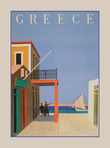 Vintage Posters - Greece II