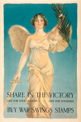 Share in the Victory -  Vintage Reproduction - McGaw Graphics