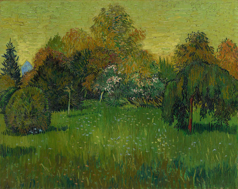 The Poet's Garden, 1888 -  Vincent van Gogh - McGaw Graphics