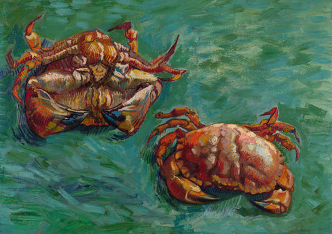 Two Crabs, 1889 -  Vincent van Gogh - McGaw Graphics