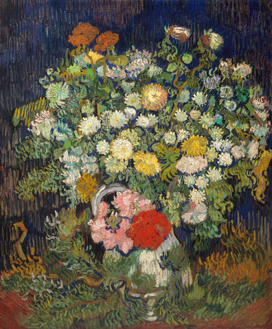 Bouquet of Flowers in a Vase, 1890