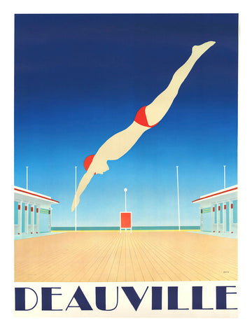 Deauville Diving -  Vintage Sophie - McGaw Graphics
