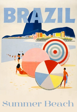 Brazil Beach -  Vintage Sophie - McGaw Graphics