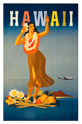 Hawaii -  Vintage Sophie - McGaw Graphics