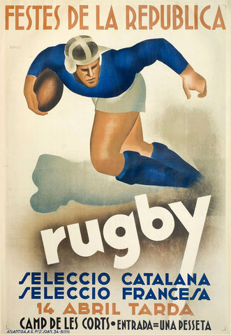 Rugby -  Vintage Sophie - McGaw Graphics