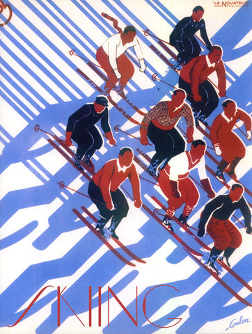 Skiing -  Vintage Sophie - McGaw Graphics