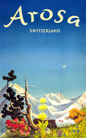 Arosa, Switzerland -  Vintage Sophie - McGaw Graphics