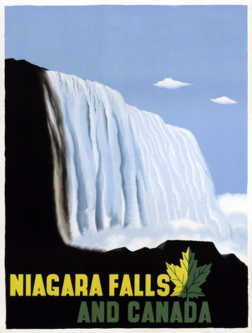Niagara Falls and Canada -  Vintage Sophie - McGaw Graphics