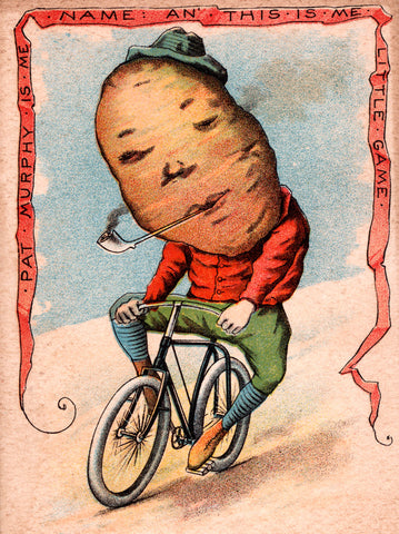 Potato on Bike -  Vintage Sophie - McGaw Graphics