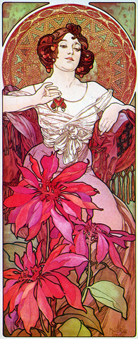 Mucha - Ruby -  Vintage Sophie - McGaw Graphics