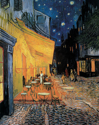 Cafe Terrace at Night -  Vincent van Gogh - McGaw Graphics