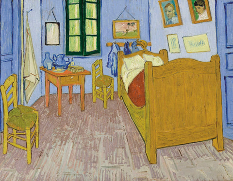 Bedroom at Arles, 1889-90 -  Vincent van Gogh - McGaw Graphics