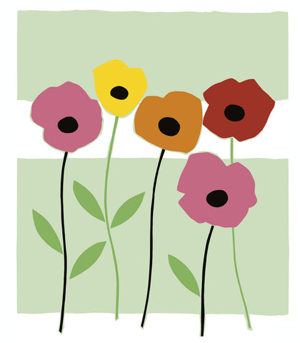 Playful Poppies -  Muriel Verger - McGaw Graphics