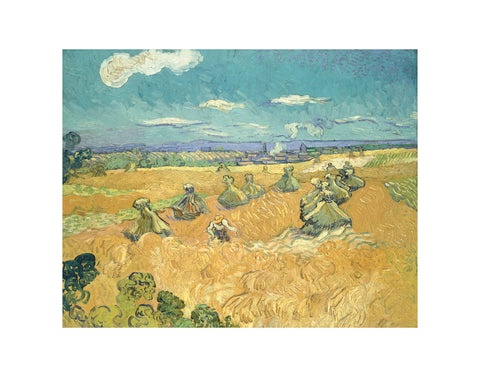 The Wheat Field, 1888 -  Vincent van Gogh - McGaw Graphics