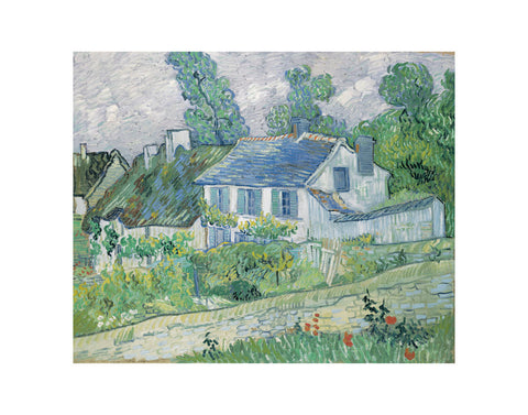 Houses at Auvers, 1890 -  Vincent van Gogh - McGaw Graphics
