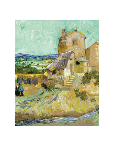 The Old Mill, 1888 -  Vincent van Gogh - McGaw Graphics