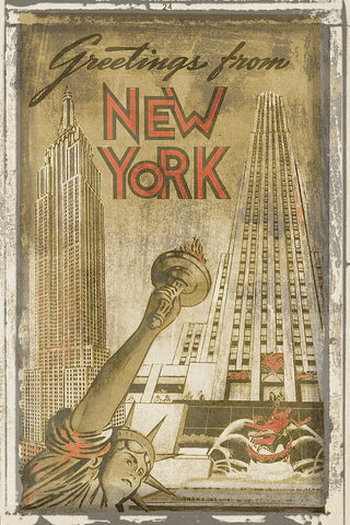 Vintage Vacation - Greetings from New York