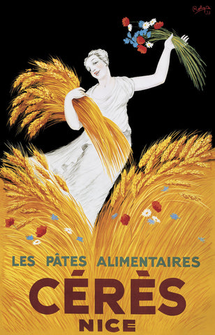 Vintage Posters - Ceres Nice