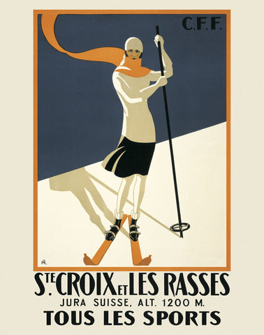 Ste. Croix -  Vintage Posters - McGaw Graphics
