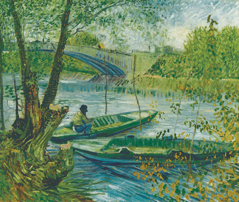A Fisherman in His Boat -  Vincent van Gogh - McGaw Graphics