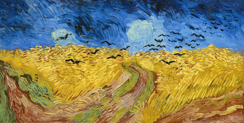 Wheatfield with Crows, 1890 -  Vincent van Gogh - McGaw Graphics