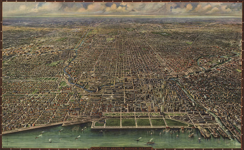 Chicago 1916 -  Arno B. Reincke - McGaw Graphics
