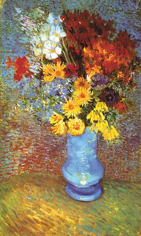 Vase With Anemone -  Vincent van Gogh - McGaw Graphics