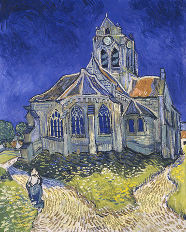 The Church at Auvers -  Vincent van Gogh - McGaw Graphics