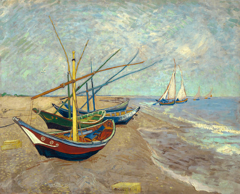 Boats Saintes-maries -  Vincent van Gogh - McGaw Graphics