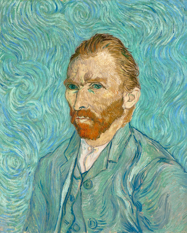 Self Portrait -  Vincent van Gogh - McGaw Graphics