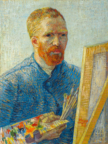 Self Portrait in Front of Easel -  Vincent van Gogh - McGaw Graphics