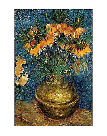 Crown Imperial Fritillaries in a Copper Vase, 1886 -  Vincent van Gogh - McGaw Graphics