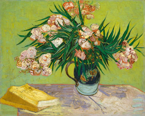 Still Life with Oleander -  Vincent van Gogh - McGaw Graphics