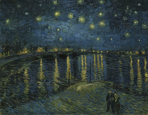 Starry Night Over the Rhone -  Vincent van Gogh - McGaw Graphics