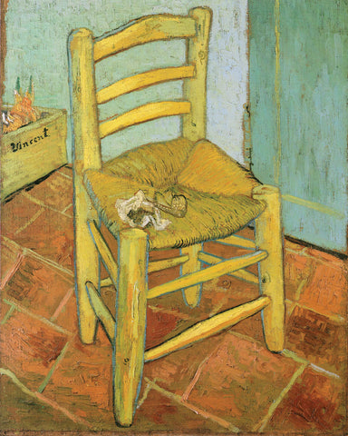Van Gogh's Chair -  Vincent van Gogh - McGaw Graphics