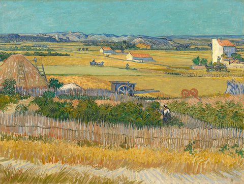 The Harvest -  Vincent van Gogh - McGaw Graphics