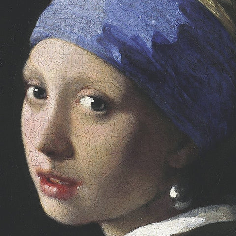Jan Vermeer - Girl with a Pearl Earring (detail)